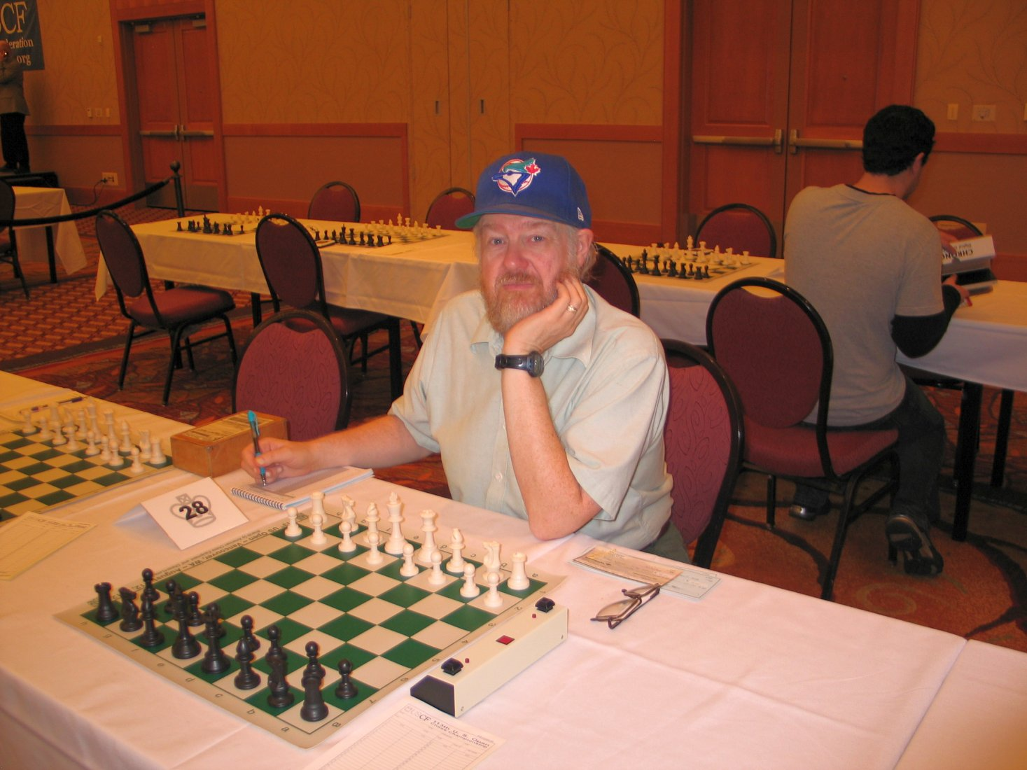 Fred Kleist at 2012 US Open. Photo by Russell Miller