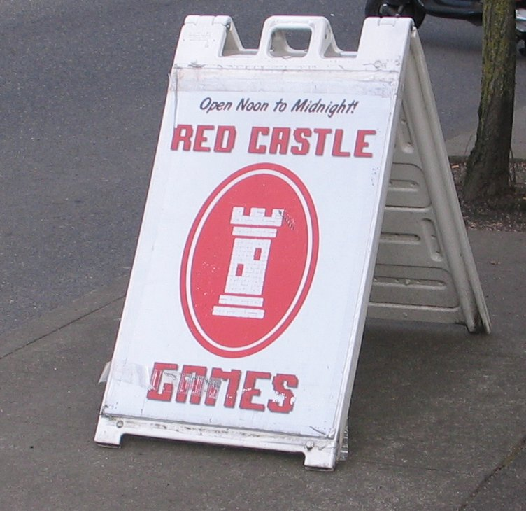 Red Castle Games, 6416 SE Foster Rd, Portland was the site of this chess event..