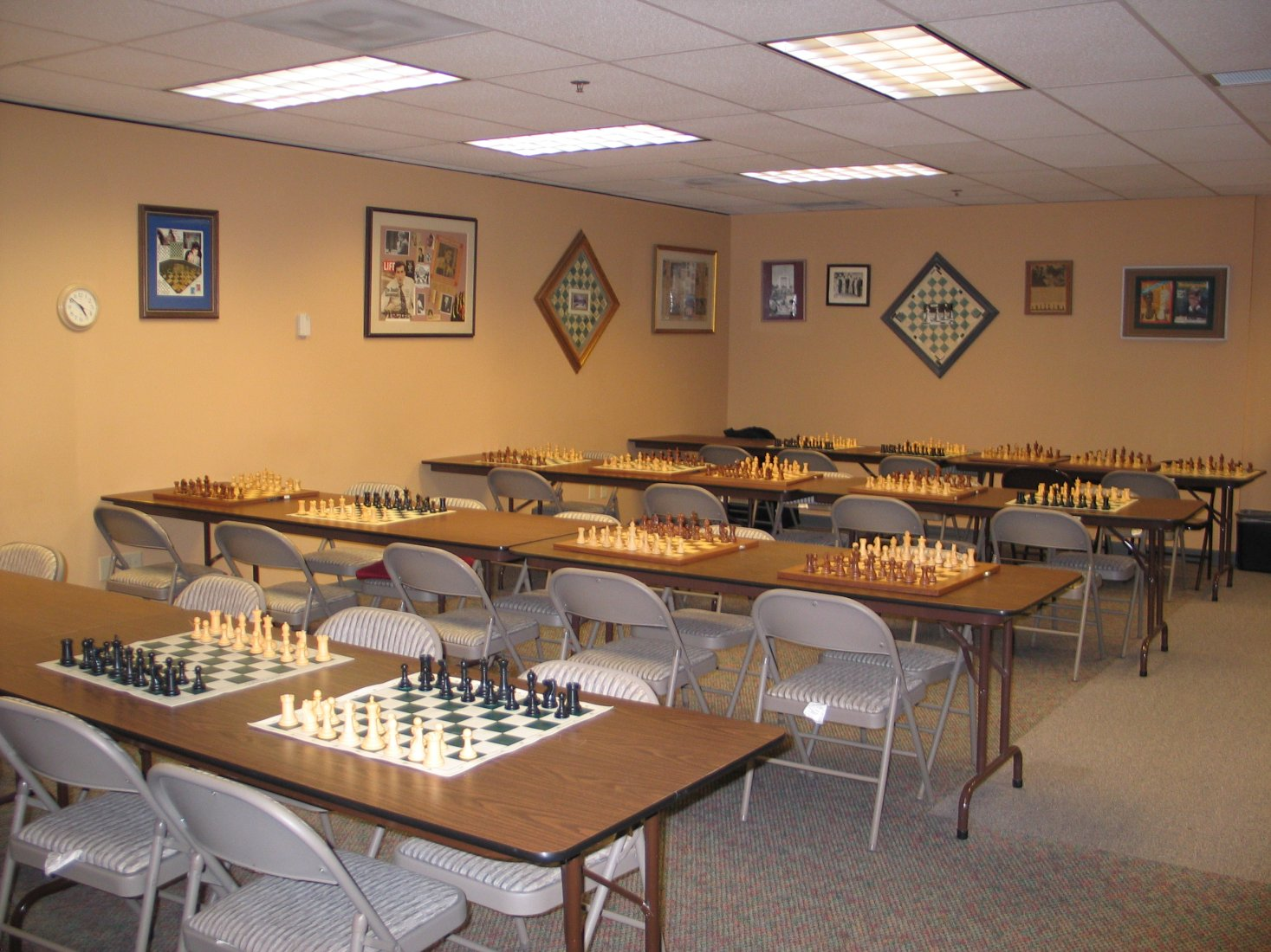 Playing Room of Seattle Chess Club