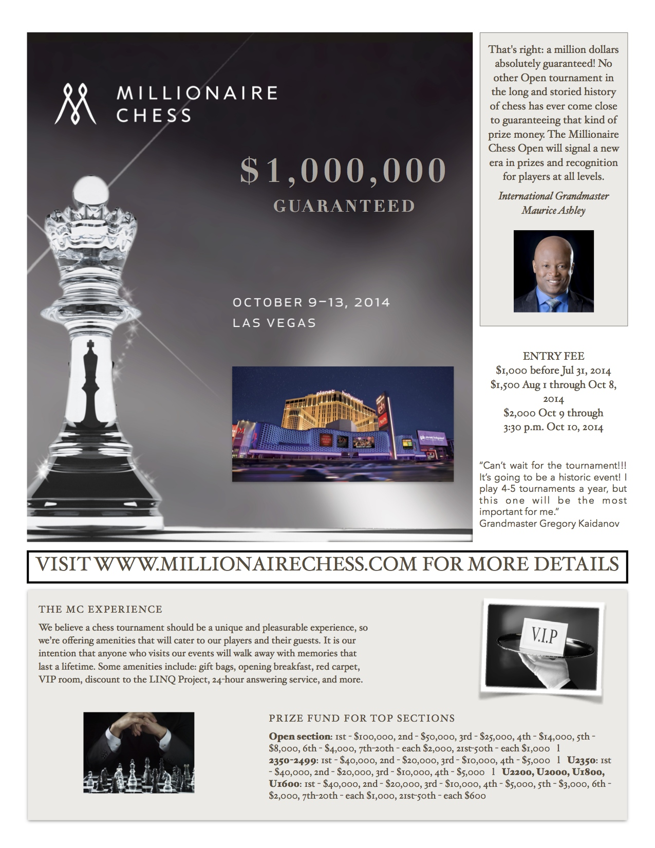 Check CHESS LIFE or the website listed on the post for more details.