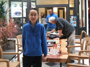 Roland Feng at 2014 Washington Blitz Chess Championship