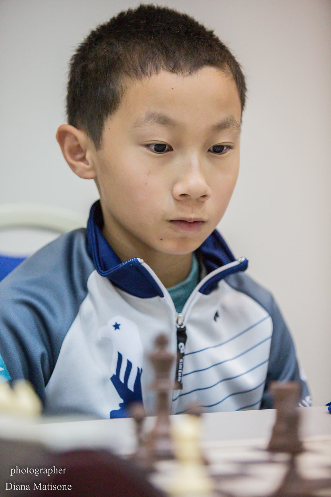 Anthony He at the 2015 World Youth.
