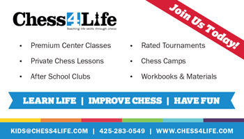 Chess4Life business card ad