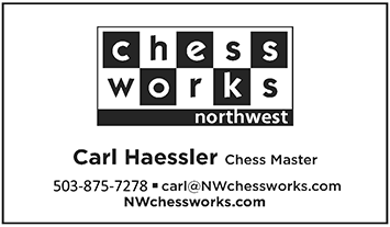 ChessWorks NW business card