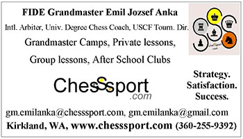 Chess Sport business card