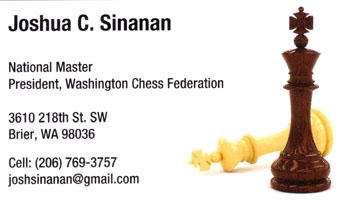 Josh Sinanan business card